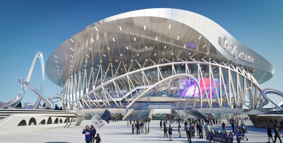 Олимпийский чемпион Панин-Коломенкин стал вдохновителем для архитекторов «СКА Арены»