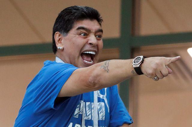 Марадона отсудил у знаменитого дома моды 70 тысяч евро - фото