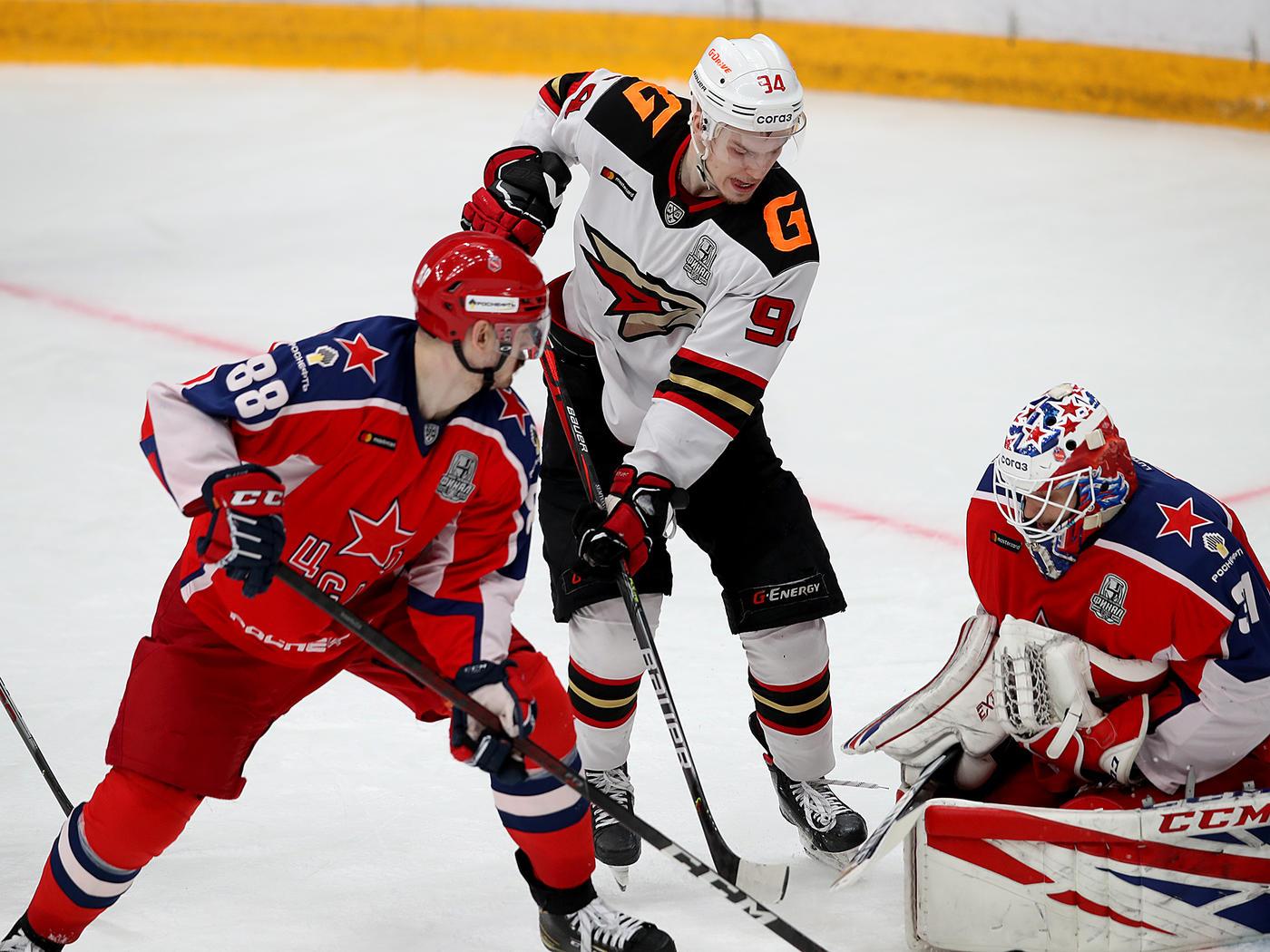 ЦСКА вышел вперед в серии с «Авангардом» в финале Кубка Гагарина - фото