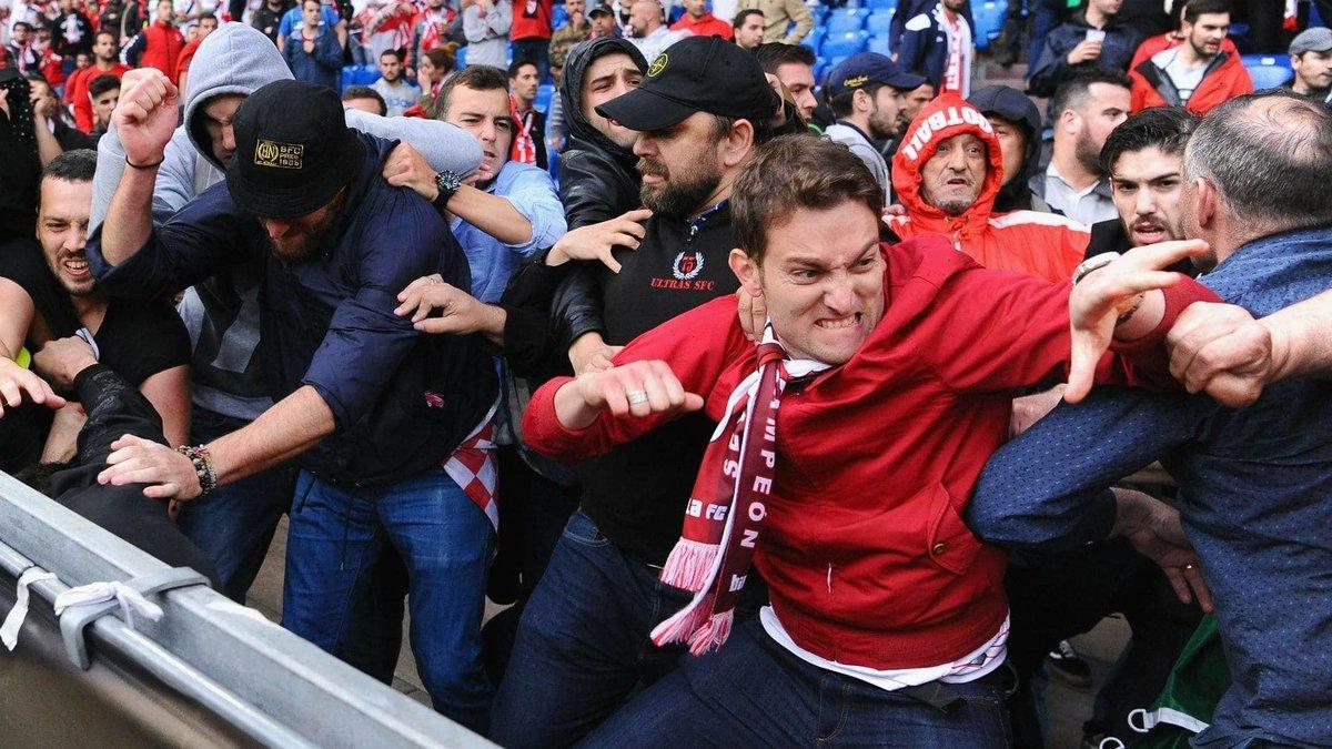 Полиция Дании считает, что российские фанаты провоцируют беспорядки и драки - фото