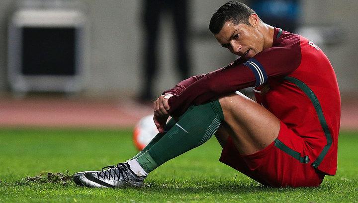 Перед игрой с «Барселоной» Роналду пропустил уже две тренировки - фото