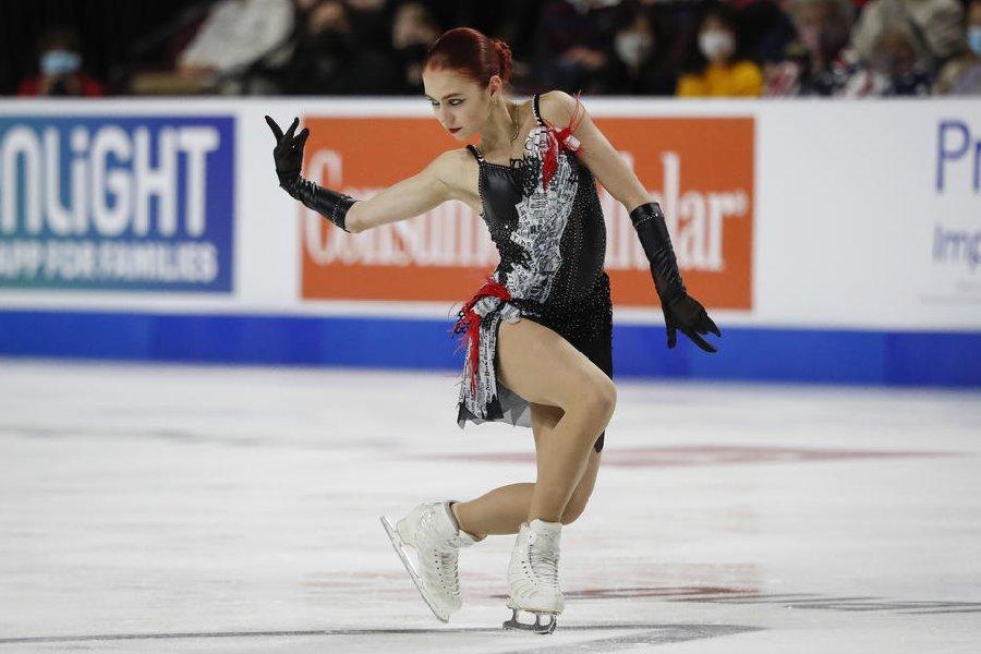 Четверной с травмой, компоненты и конкуренция с Валиевой: 5 выводов о Трусовой после Skate America - фото