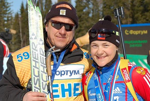 Отец Юрловой-Перхт рассказал, когда она завершит карьеру - фото