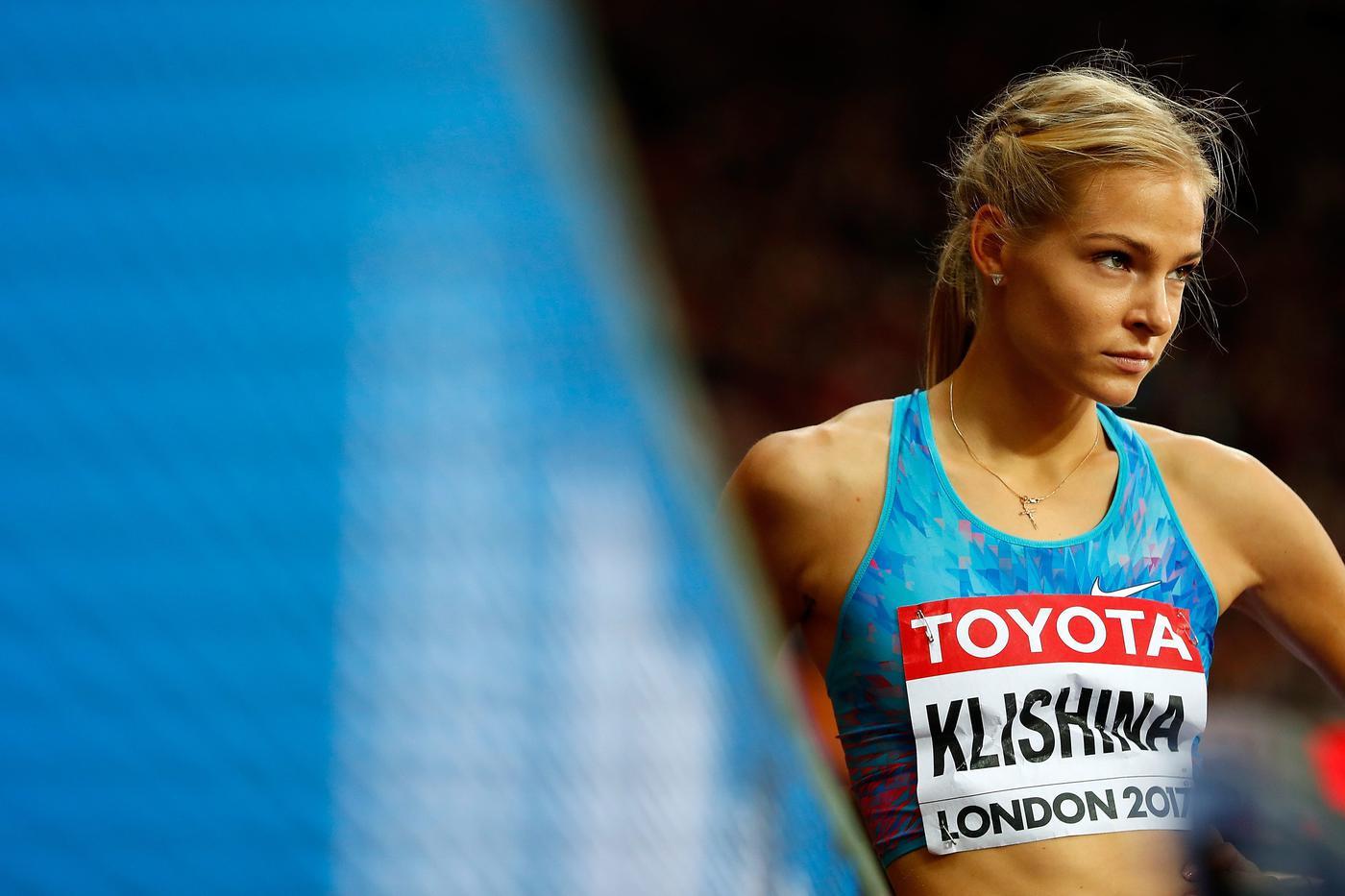 Дарья Клишина отказалась от участие в чемпионате России по легкой атлетике - фото