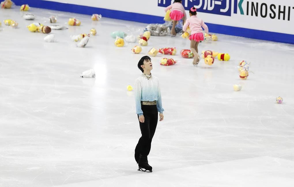 Ханю впервые в карьере выиграл чемпионат четырех континентов - фото