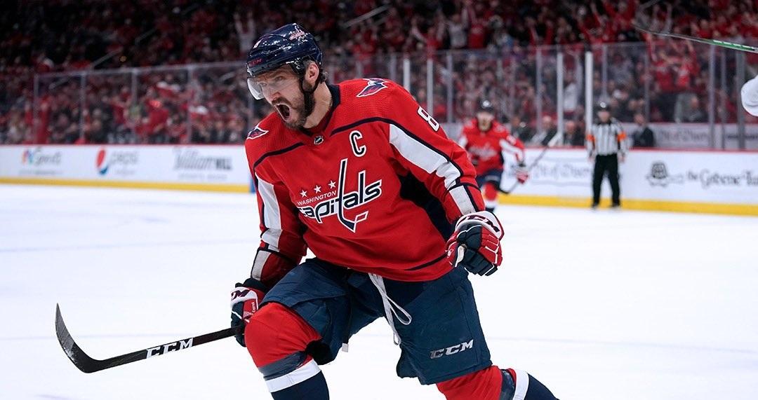 Овечкин установил рекорд НХЛ по голам в равных составах среди левых форвардов - фото
