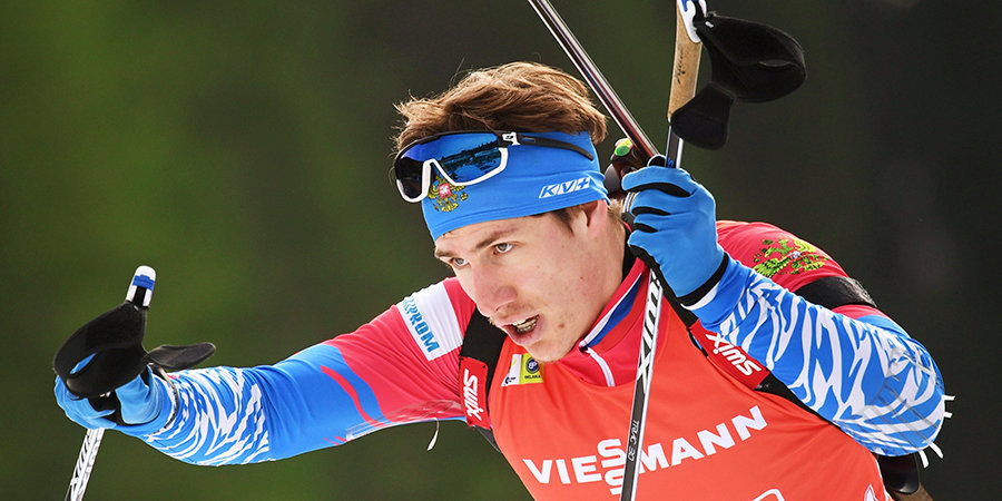 Латыпов выиграл гонку преследования на чемпионате России по биатлону - фото