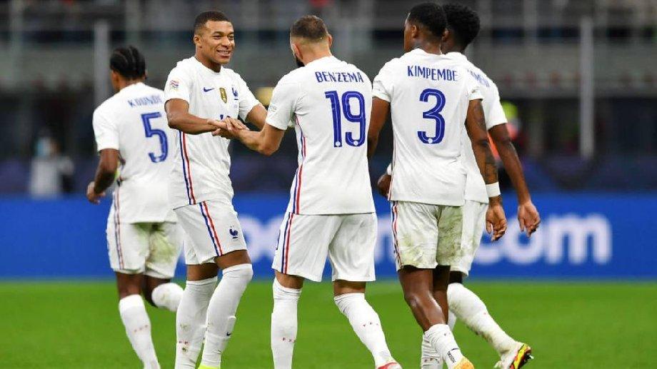 Франция выиграла Лигу Наций, Мбаппе и Бензема сокрушили испанцев - фото