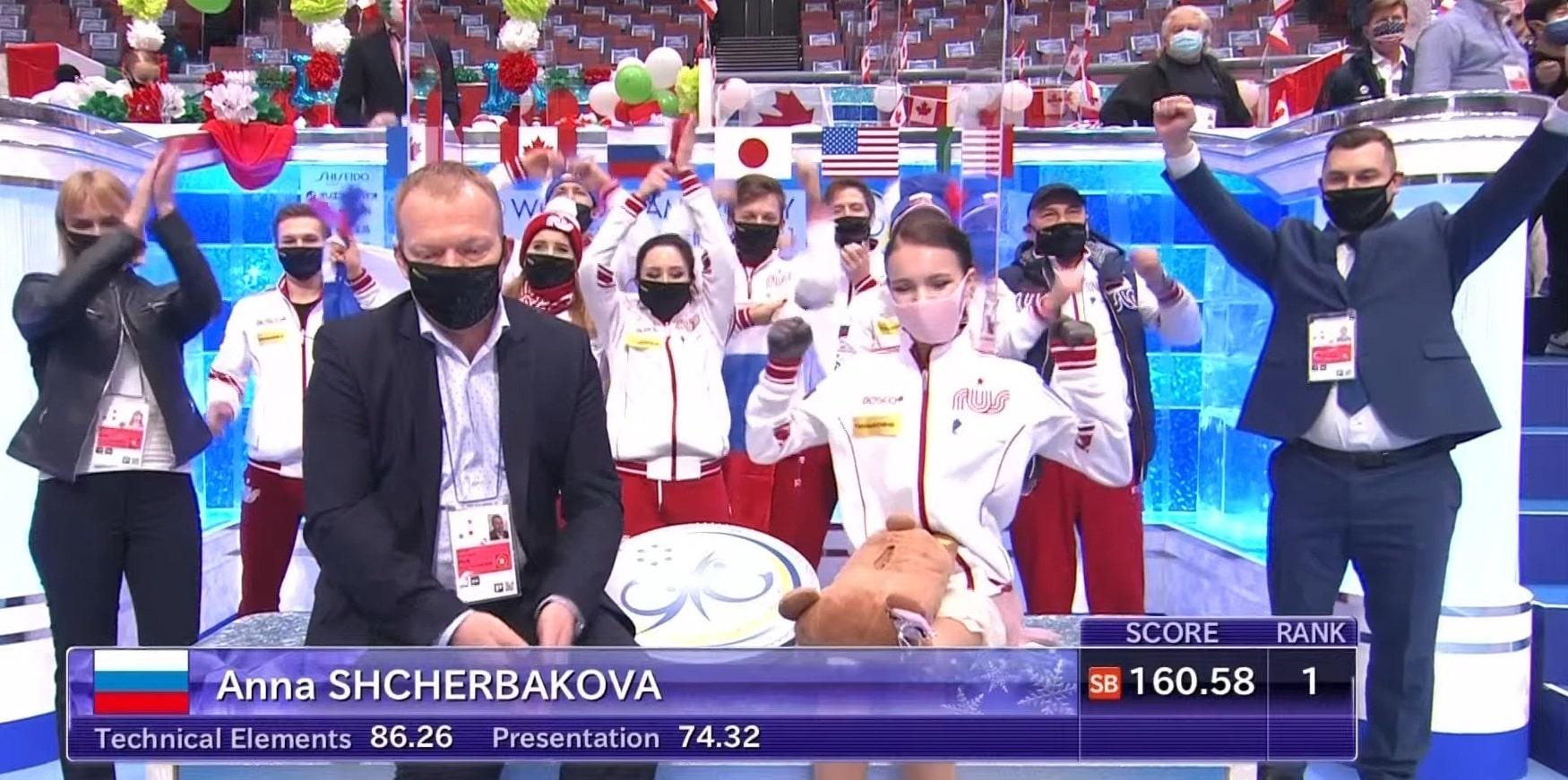 Щербакова – об олимпийском сезоне: Целенаправленно об этом не задумывалась - фото