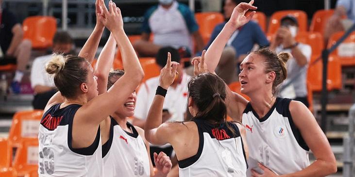 Женская сборная России завоевала серебро Олимпиады-2020 в баскетболе 3x3