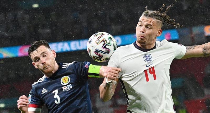 Самый молодой состав в истории сборных Англии не смог победить Шотландию на Евро - фото