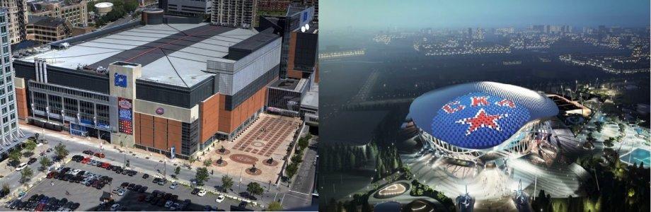Белл-центр и «СКА Арена». Сравнили два самых больших дворца в мире - фото