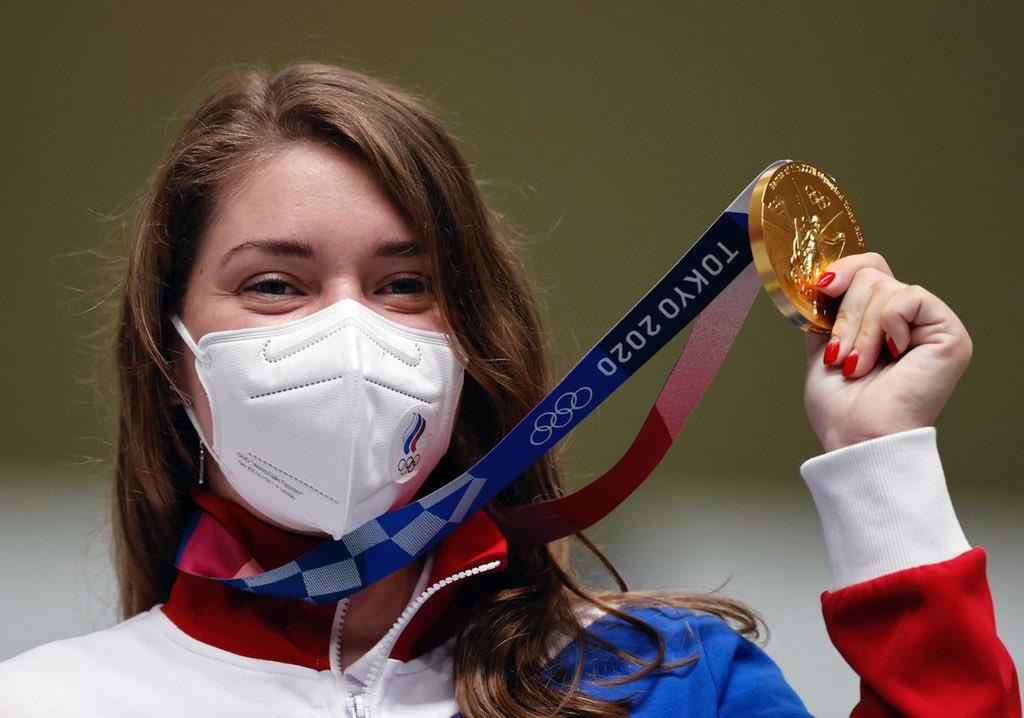 Сборная России завоевала первую золотую медаль на Олимпиаде в Токио  - фото