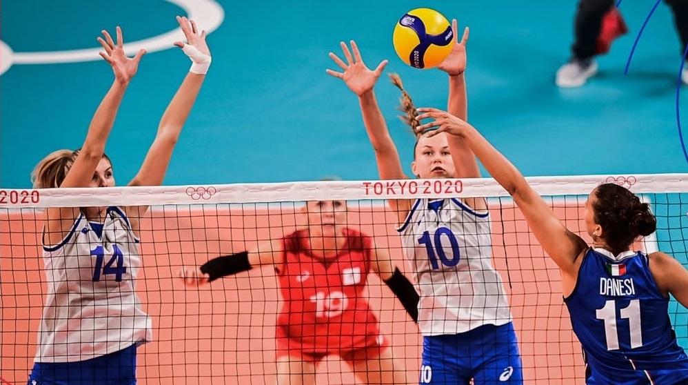 Россиянки уступили Италии на олимпийском турнире  - фото