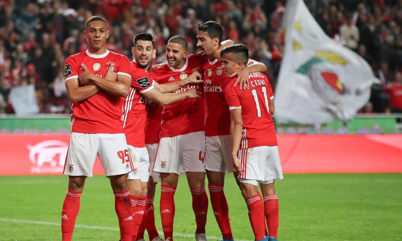 У «Бенфики» девять побед подряд в чемпионате Португалии. «Зениту» будет тяжело в Лиссабоне - фото