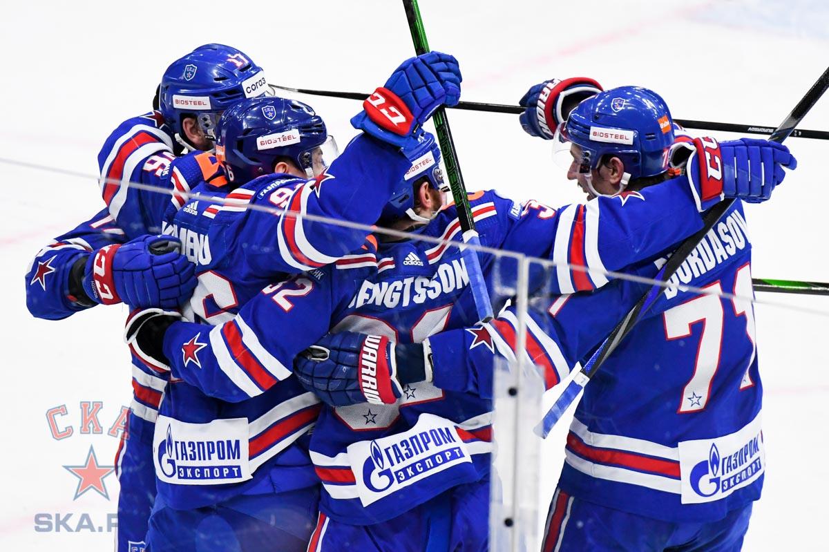 СКА обыграл финский «Йокерит» - фото