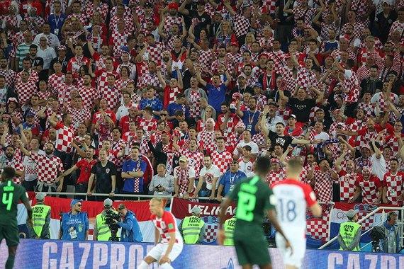 Сборная Хорватии одержала уверенную победу над Нигерией - фото
