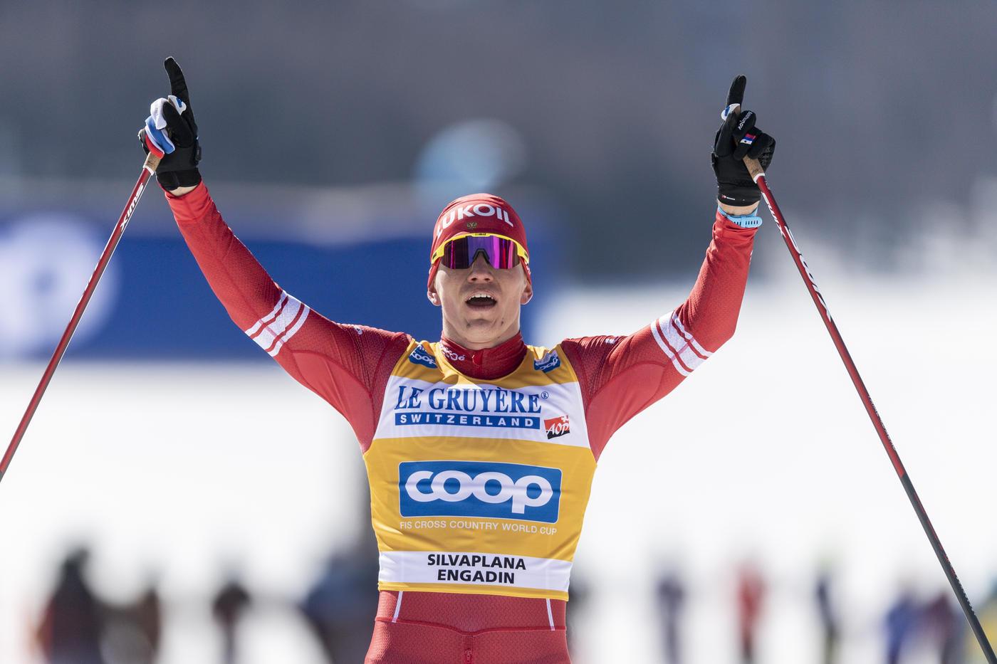 Норвежские лыжники пообещали использовать портрет Большунова для вдохновения перед Олимпиадой - фото