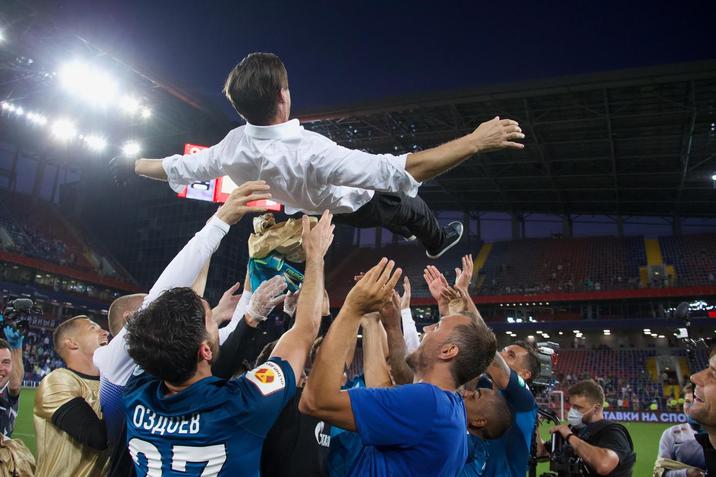 «Зенит» побеждал клуб, выбивший из Лиги чемпионов Криштиану Роналду - фото