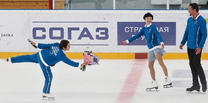 Юко Кавагути: Один раз голосовала за «Единую Россию». Тамара Николаевна сказала: Надо сходить! - фото