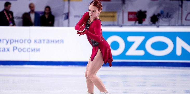 Гербольдт: Наконец-то Трусова показала пять четверных на официальной тренировке - фото