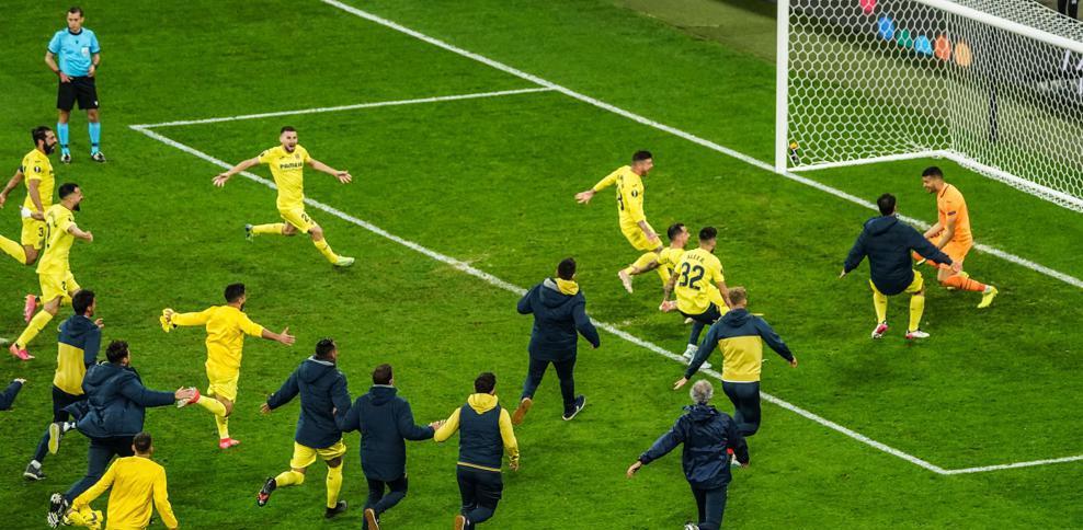 «Вильярреал» обыграл «Манчестер Юнайтед» в финале Лиги Европы - фото