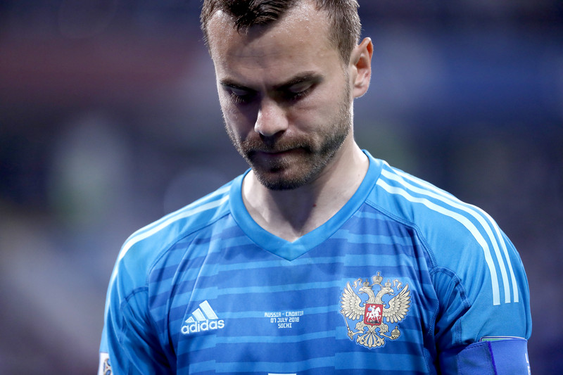 Андрей Чернышов: Нам не нужен вратарь, нам нужен Акинфеев! - фото