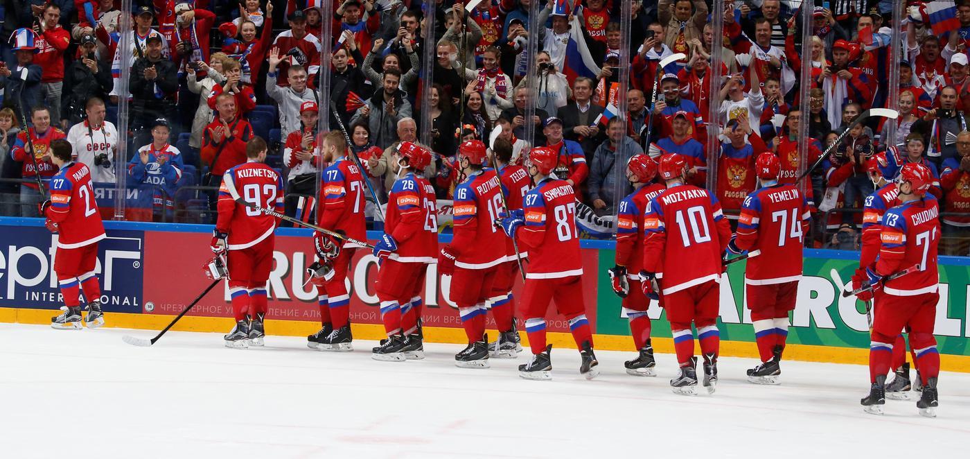 Россия проиграла Казахстану на Kazakhstan Hockey Open - фото