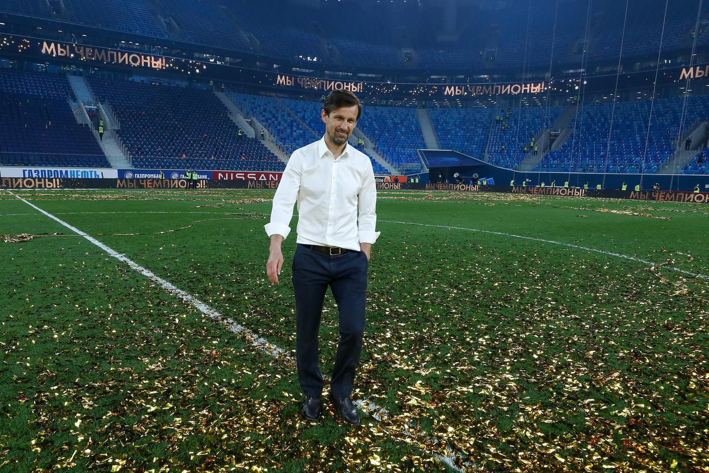 Сергей Семак: «Каждое чемпионство приносит мне особенный подарок» - фото