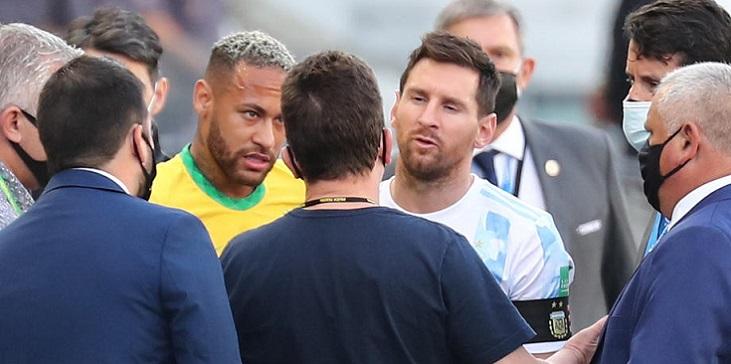 ФИФА прокомментировала остановку матча Бразилия – Аргентина - фото
