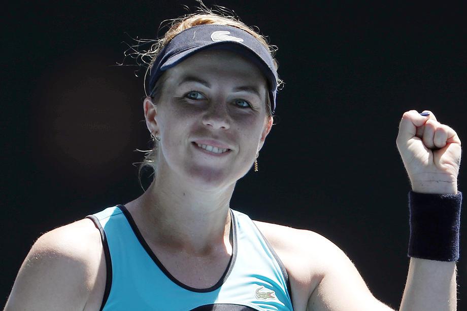 Анастасия Павлюченкова: Кербер играла как зверь, рада что устояла и выиграла - фото