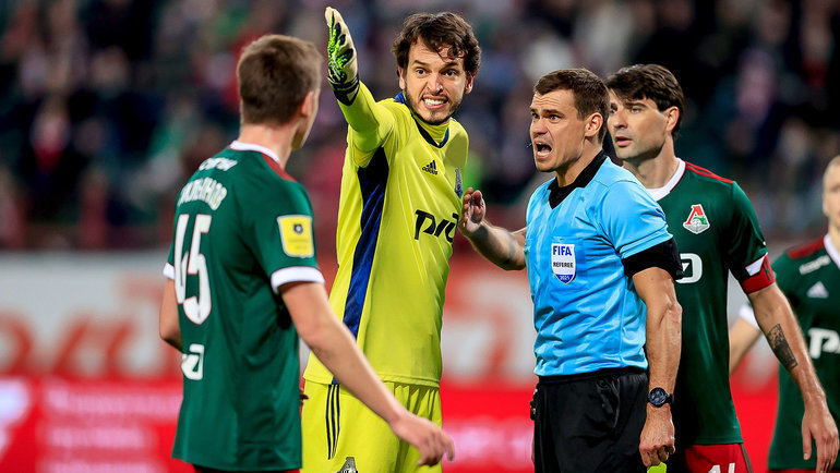 «Гильерме заслуживает самых лестных слов»: «Локомотив» не стал извиняться за поведение своего вратаря - фото