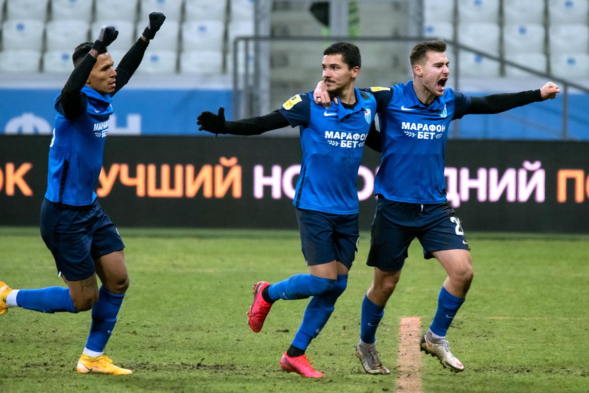 «Ротор» одержал волевую победу в матче с «Тамбовом» в РПЛ - фото