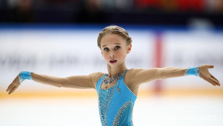 12-летняя ученица Плющенко прыгнула каскад четверной сальхов – тройной тулуп - фото