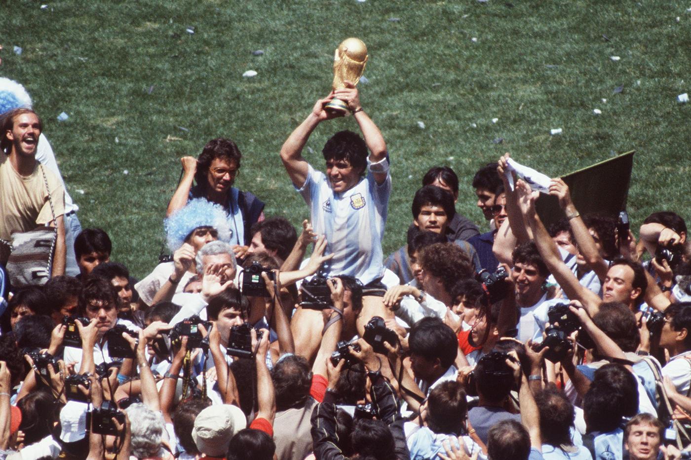 Невысокий крепыш подарил Аргентине Кубок мира - фото
