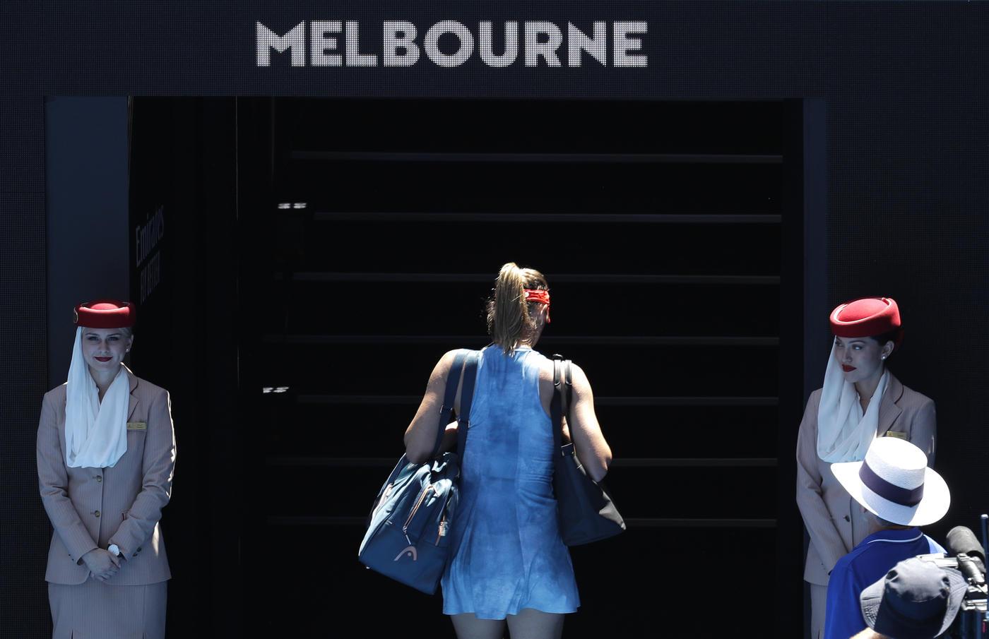 Шарапова вылетела с Australian Open и не стала отвечать на вопросы о допинге - фото