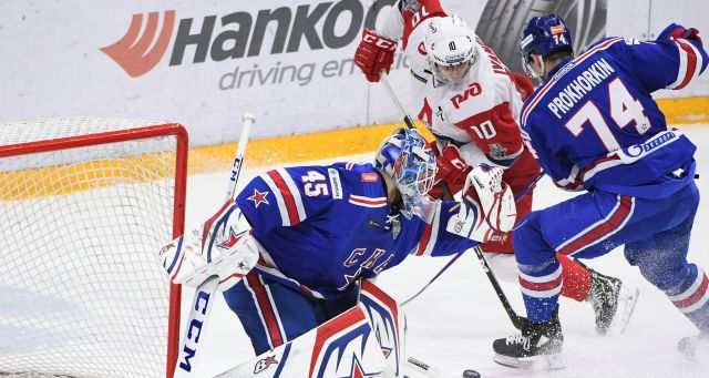 Первый разгром серии. СКА и «Локомотив» сыграли второй матч - фото