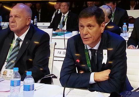 Жуков не станет переизбираться в президенты ОКР - фото