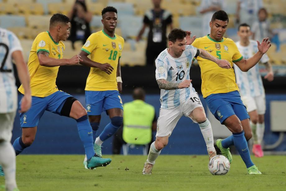 Месси выиграл первый трофей со сборной Аргентины  - фото