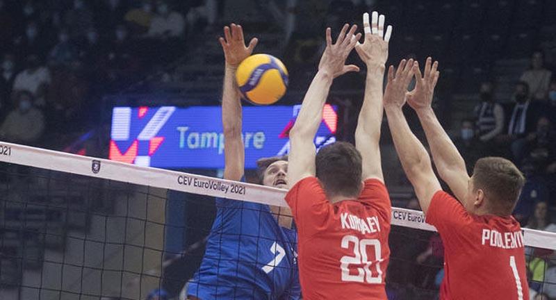 Волейболисты сборной Украины получат 10 млн гривен за победу над командой России на чемпионате Европы - фото