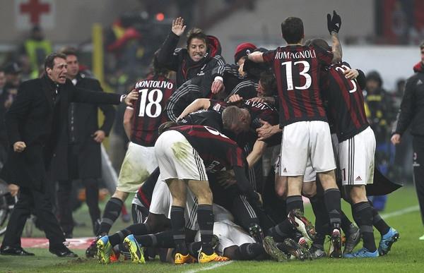 Миланское дерби осталось за «посредственной командой» - фото