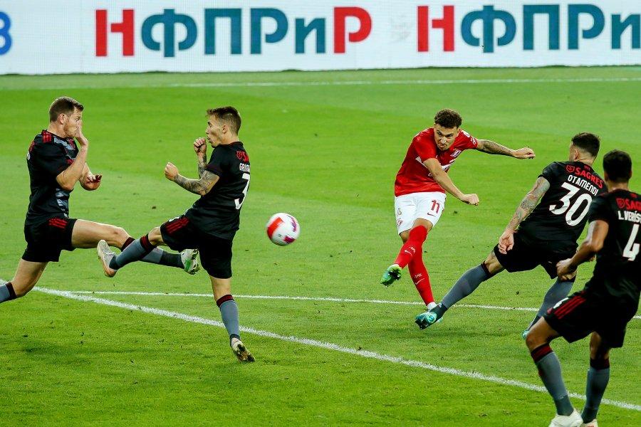 «Спартак» проиграл «Бенфике» в первом матче квалификации Лиги Чемпионов - фото