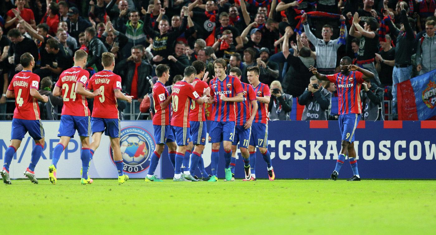 ЦСКА объявил стартовый состав на матч с «Манчестер Юнайтед» - фото