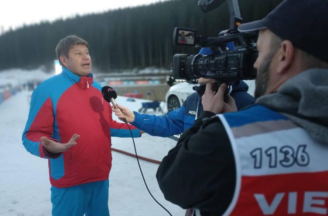 Дмитрий Губерниев дал жесткий ответ «Спорту День за Днем» на вопрос о лайке Устюгова - фото