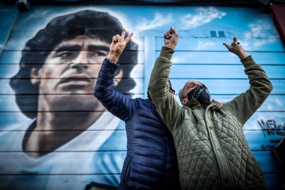Итальянцы и аргентинцы хотят устроить матч в память о Марадоне - фото