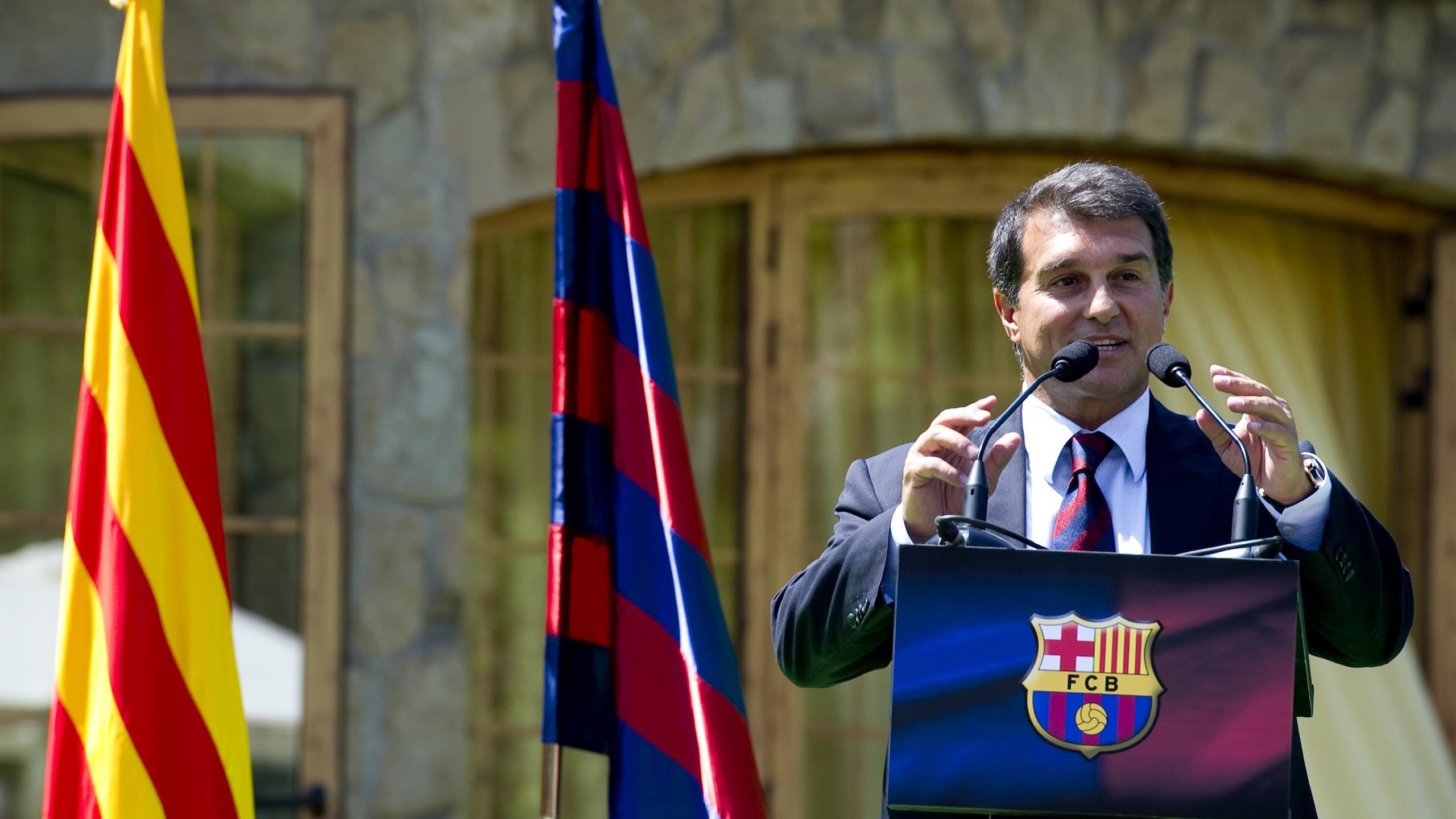 Президент «Барселоны» заявил, что проект Суперлиги жив - фото