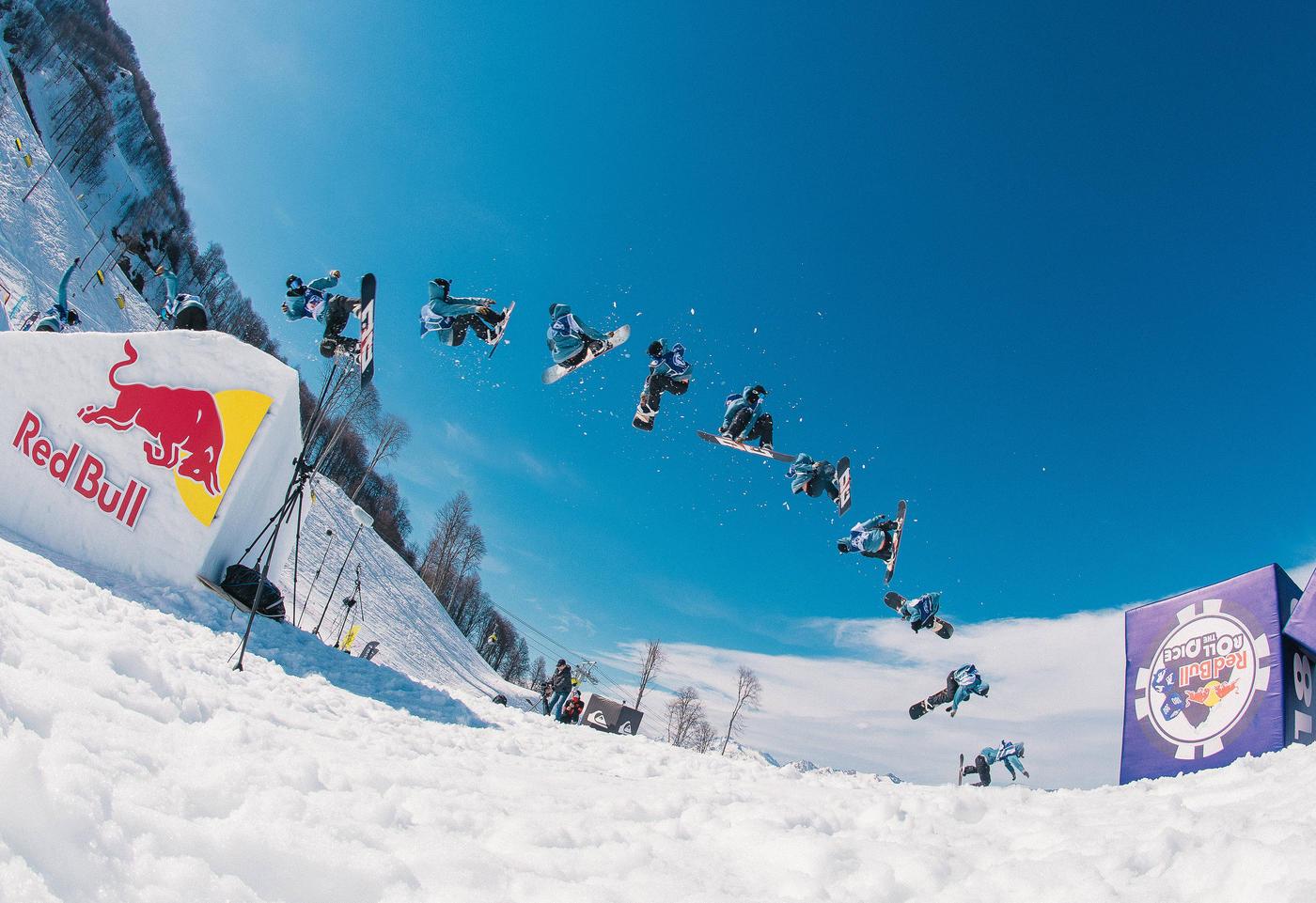 Самый азартный контест сезона Red Bull the Dice пройдет на горнолыжном курорте «Роза Хутор» 3 апреля - фото