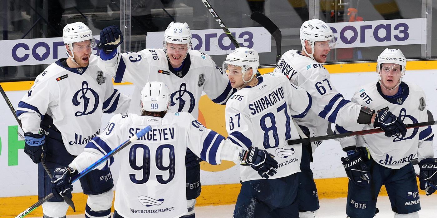 «Авангард» и московское «Динамо» вышли в следующий раунд Кубка Гагарина - фото