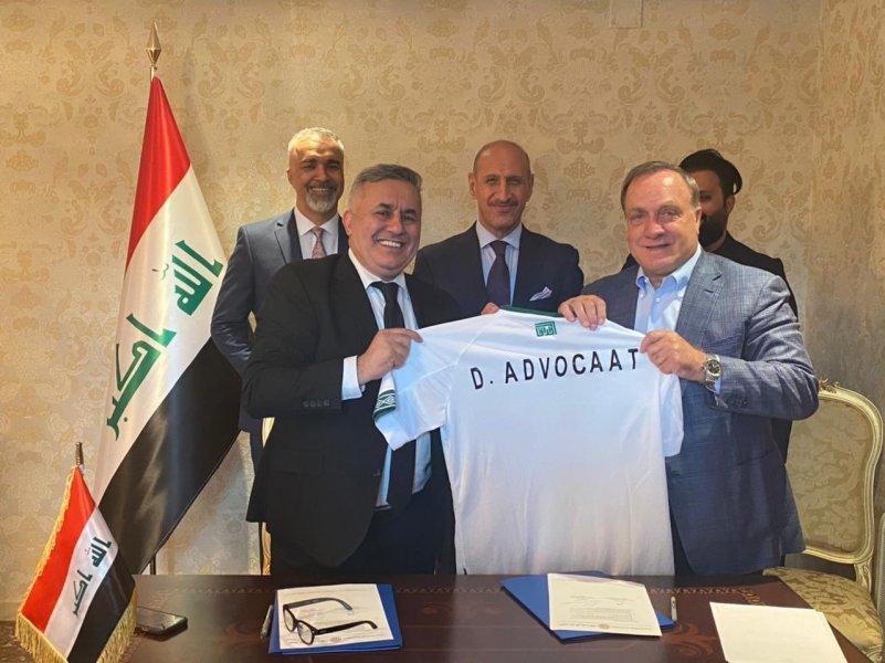 Дик Адвокат возглавил сборную Ирака - фото