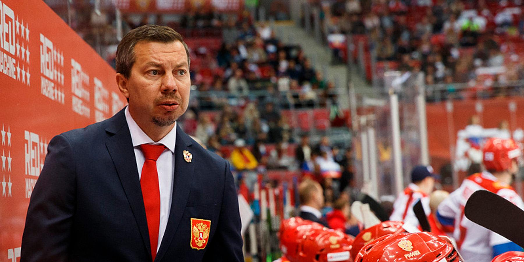 Илья Воробьев не ответил на вопрос о дальнейшей работе в сборной - фото